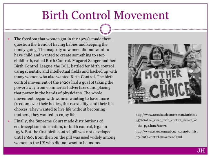 the history of birth control It's been damned as the work of the devil, made illegal by federal law, and plagued by fraud and danger but even at the risk of life and liberty, every generation of american women and men has sought effective birth control.