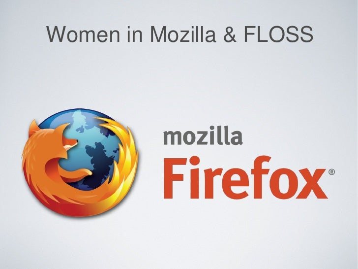 Women in Mozilla & FLOSS