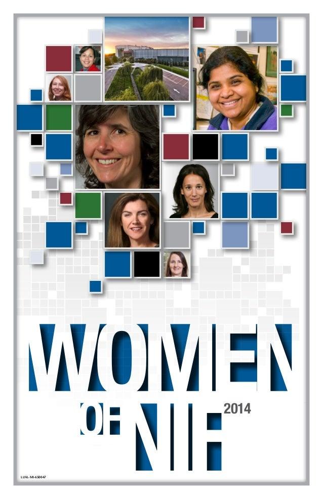 WOMEN NIFOF 2014 LLNL-MI-650047