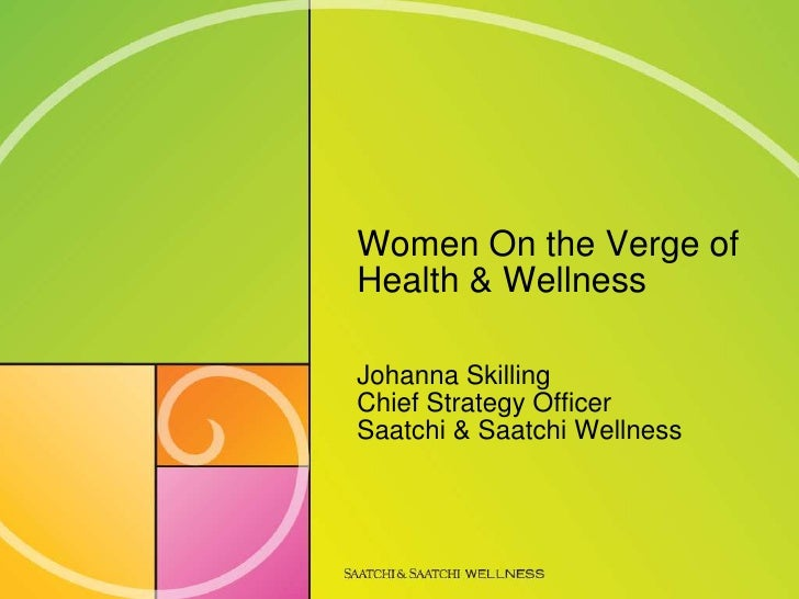 Women on the verge of wellness  - ssw at m2w-hc 2009