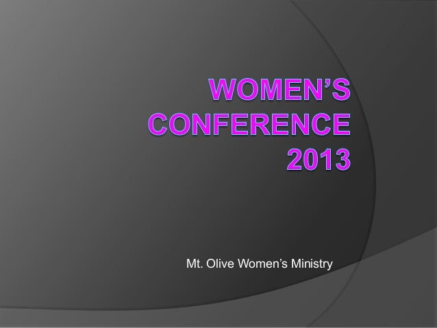 Mt. Olive Women's Ministry