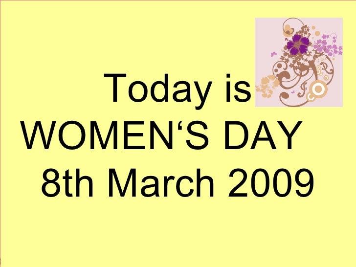 Women's Day 2009