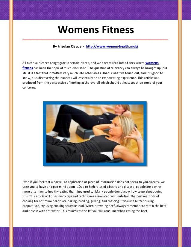 Womens Fitness_____________________________________________________________________________________                       ...
