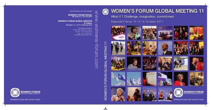 Women's Forum Global Meeting 2011 - Best Of Book (Part 1)