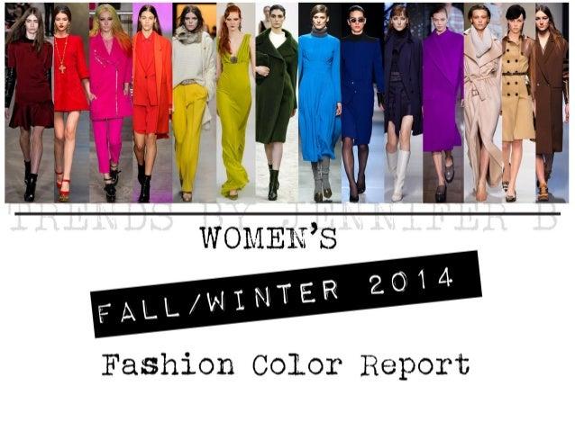 Fall fashion colors 2014