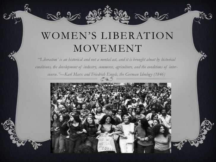 womens liberation The new chastity and other arguments against women's liberation, by midge decter new york: coward, mccann & geoghegan 188 pp the american woman: her changing social, economic and political roles, 1920-1970, by william h chafe.