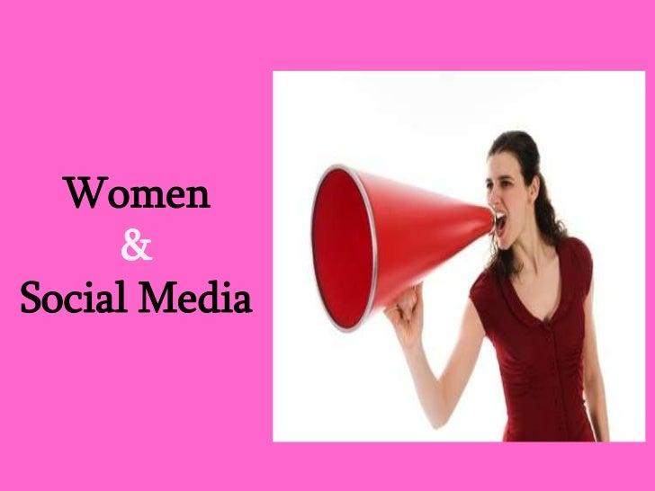 Women & social media
