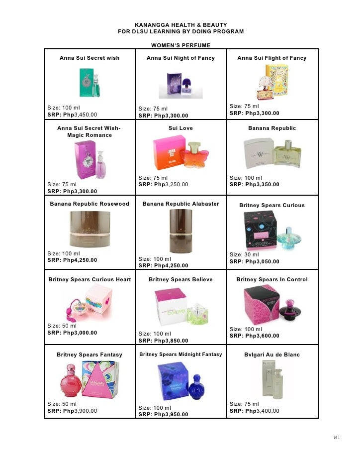 Womens Perfume 1