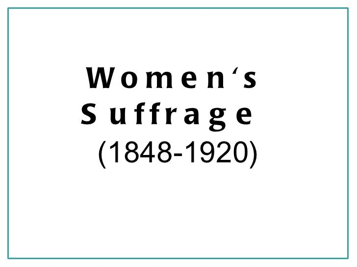 women s suffrage Women's suffrage in the united kingdom was a movement to fight for women's right to vote it finally succeeded through two laws in 1918 and 1928.