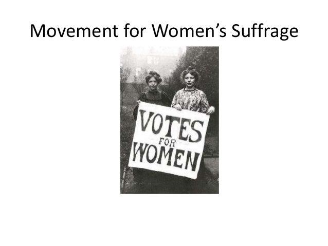 Women s suffrage (1)