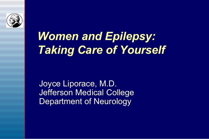 Women and Epilepsy: Taking Care of Yourself