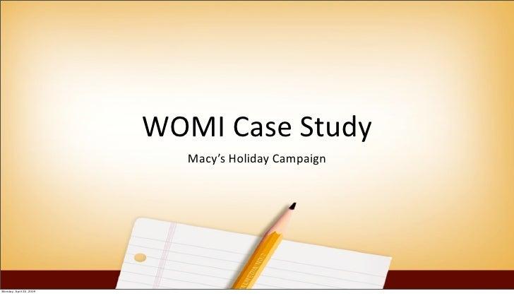 Womi Case Study
