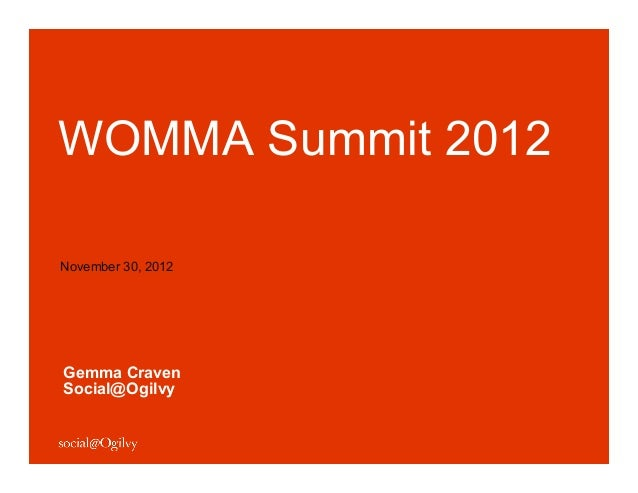 9 Key Takeaways for Brands from WOMMA Summit 2012