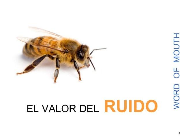 1 WORDOFMOUTH EL VALOR DEL RUIDO