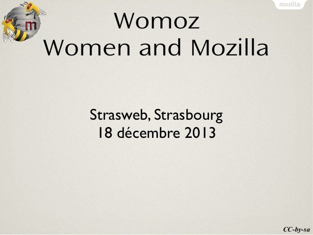 Womoz Women and Mozilla Strasweb, Strasbourg 18 décembre 2013  CC-by-sa