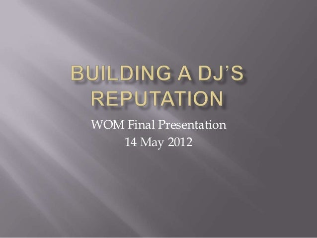 Word of Mouth Presentation