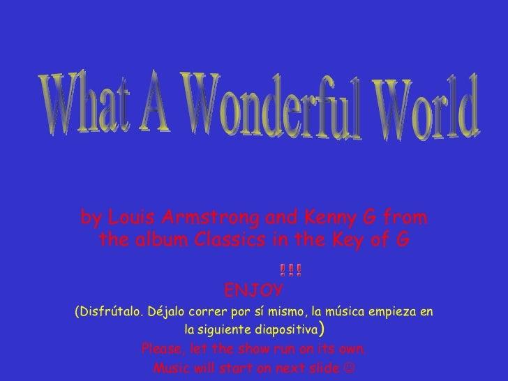Wonderful World