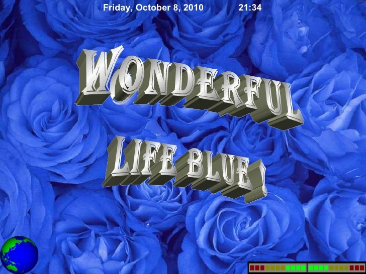 WONDERFUL BLUE LIFE !