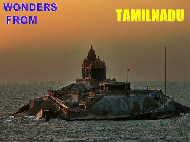 WONDERS FROM TAMILNADU