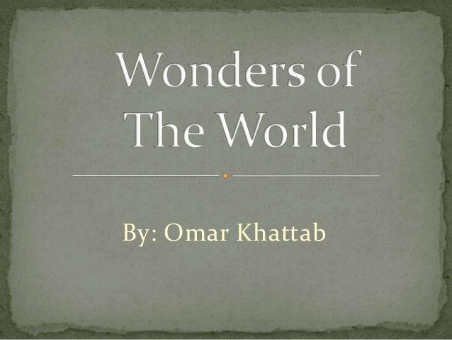 By: Omar Khattab