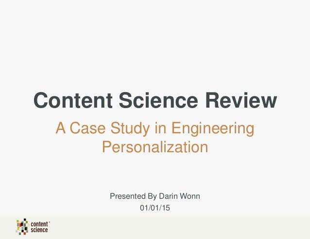 Case study help science