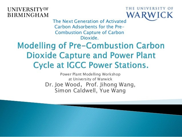 Wood Workshop on Modelling and Simulation of Coal-fired Power Generation and CCS Process