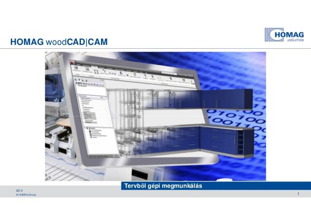 wood cad cam homag 2