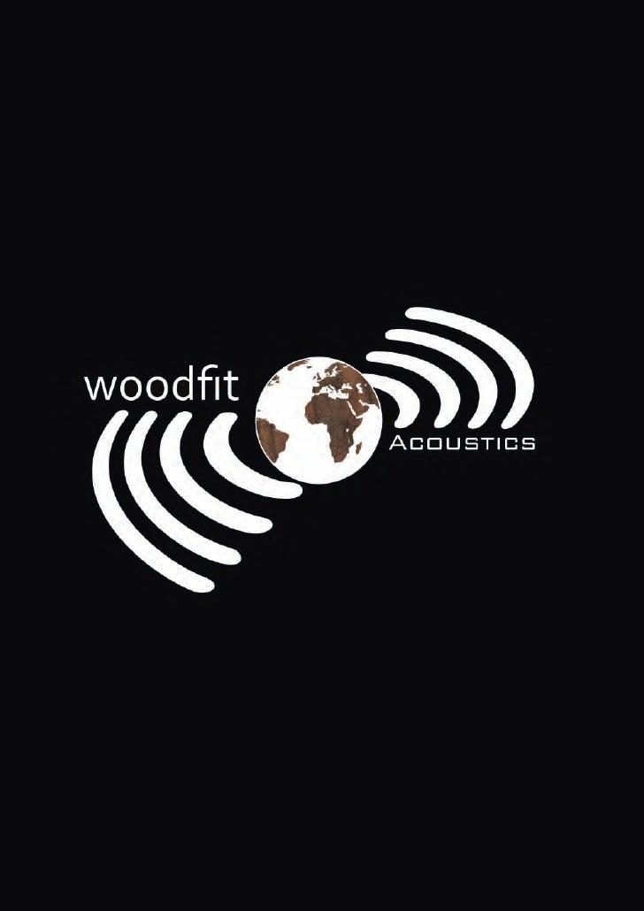 Woodfit Acoustics Brochure