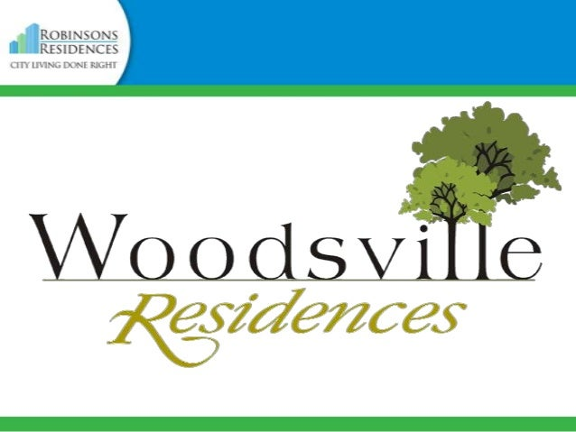 VICINITY MAP  Woodsville Residences is located along West Service Road, Paraňaque City, minutes away from the Bonifacio Gl...