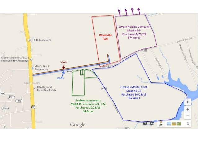 Woodville Park Area, Gloucester, VA, Overlay Map