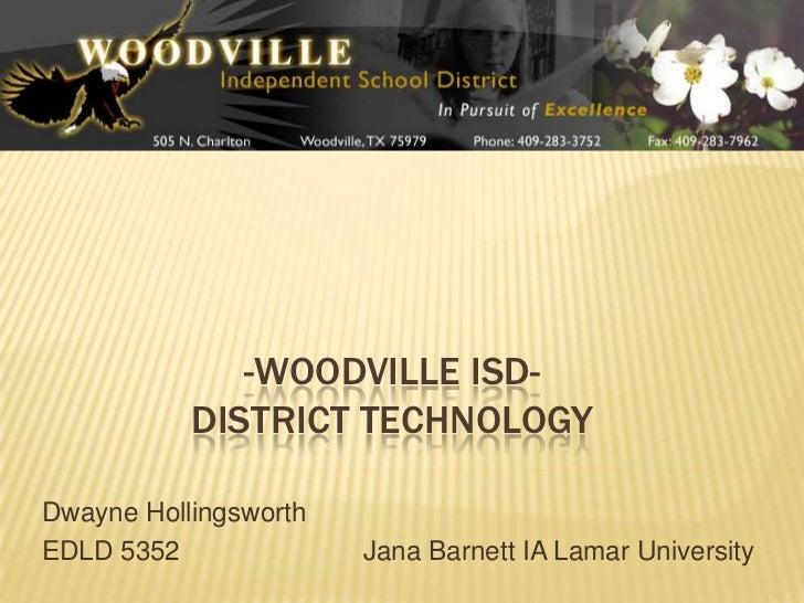 Woodville ISD Technology Plan