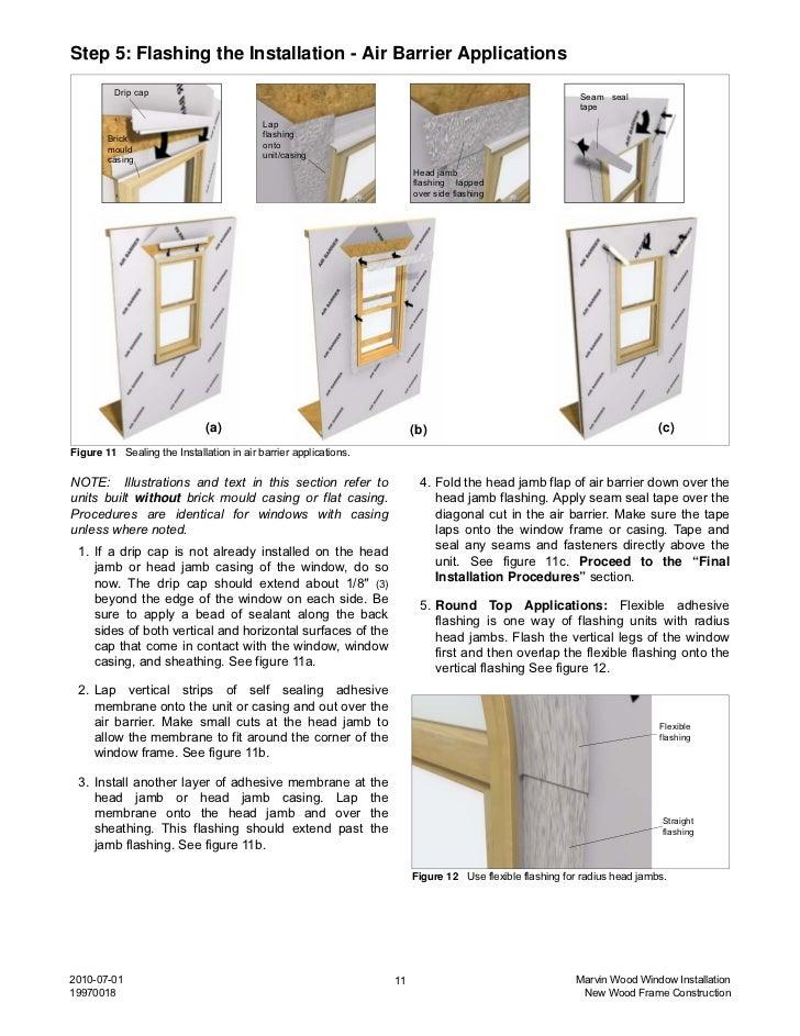 Marvin Window Details : Marvin wood window installation instructions
