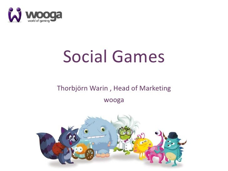 How to succeed with Social Gaming in Europe – Thorbjörn Warin