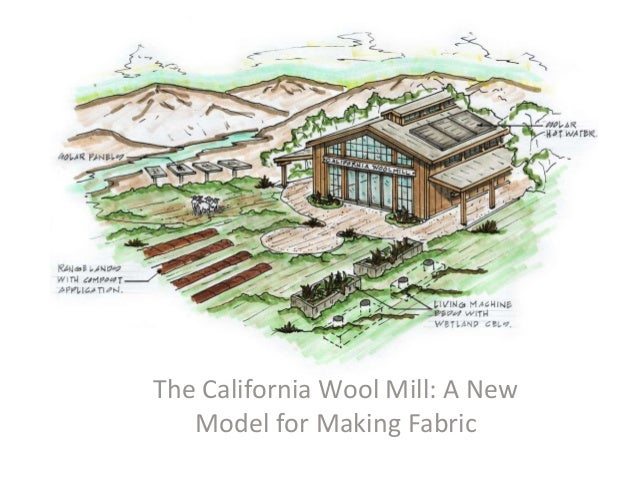 The California Wool Mill: A New Model for Making Fabric