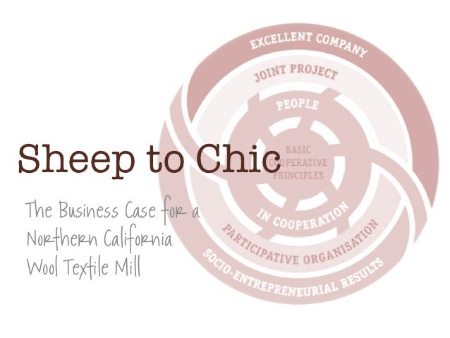 Sheep to ChicThe Business Case for aNorthern CaliforniaWool Textile Mill