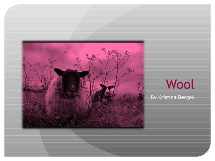 Woolpresentation
