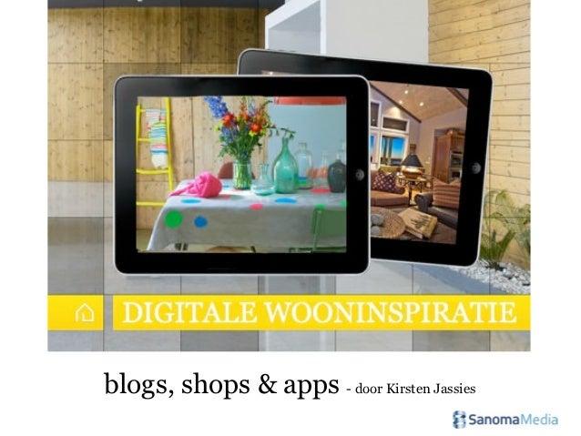 Online wooninspiratie: de leukste blogs, shops en apps