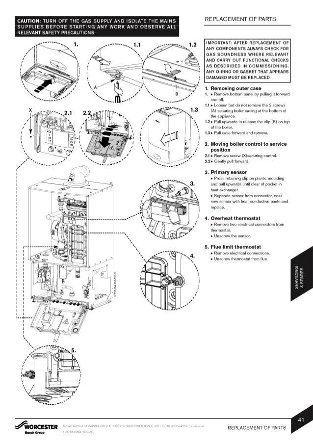 Worcester Bosch: Worcester Bosch Installation Instructions