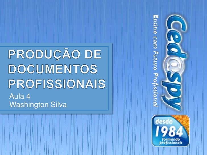 Aula 4Washington Silva