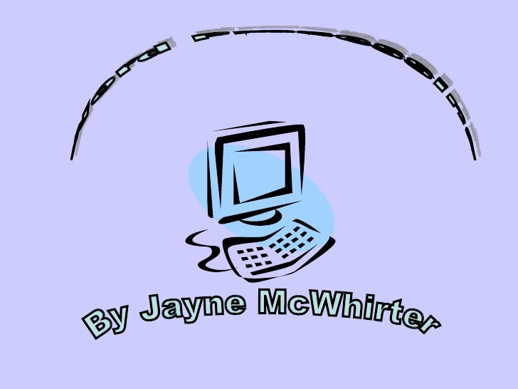 Word Processing By Jayne McWhirter