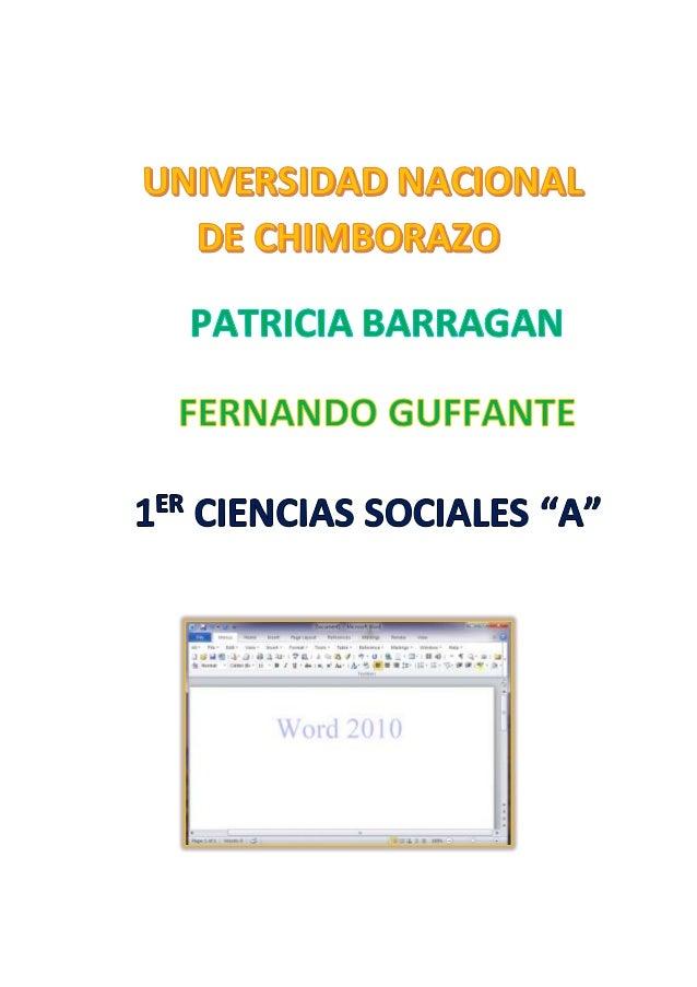 LECCIÓN1 Introducción LECCIÓN2 Abrir Word 2010 LECCIÓN3 Interfaz de word 2010
