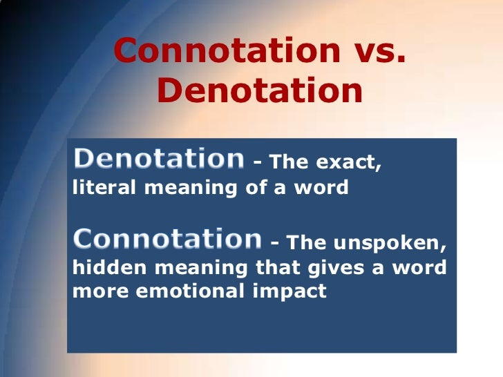 Word choice diction and connotations for Versus definition