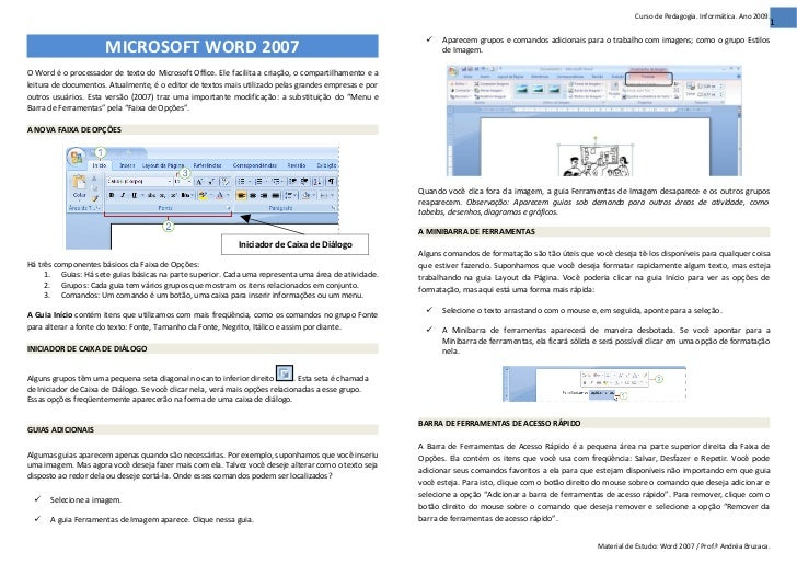 Word 2007 (Material Estudo)