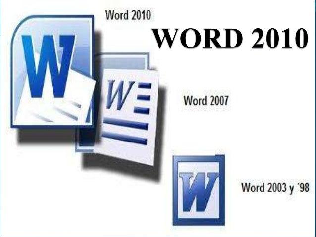 Word 2010 computación