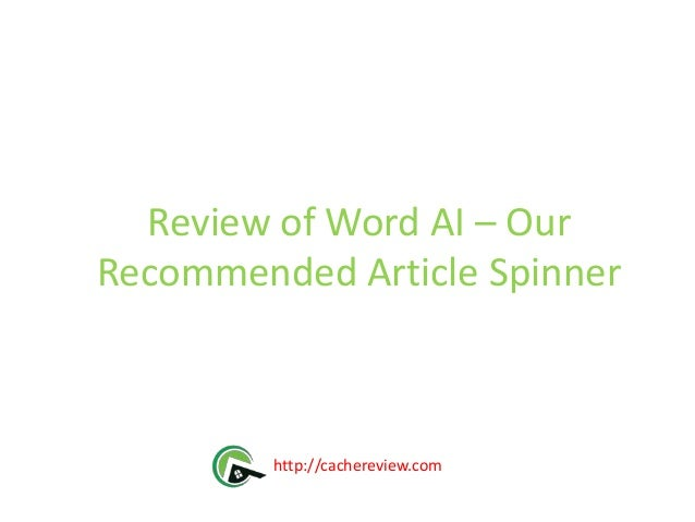 Best article spinners