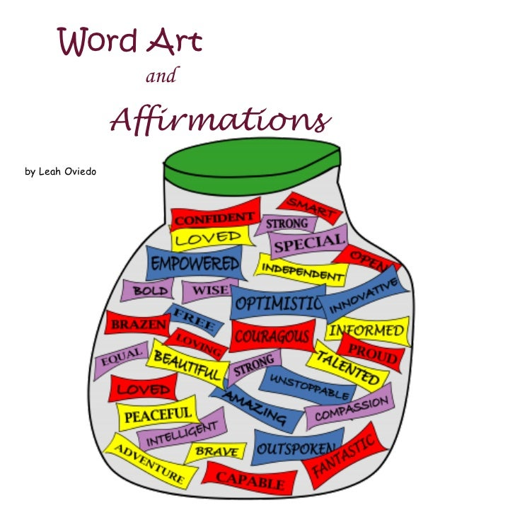 Affirmation words examples sentences