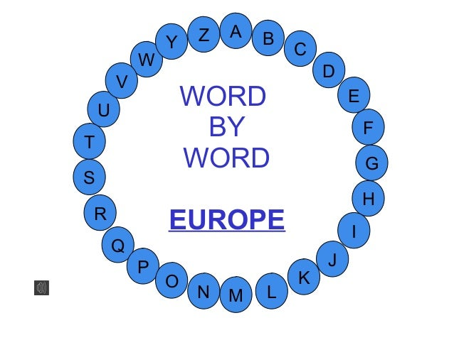Word by word_europe