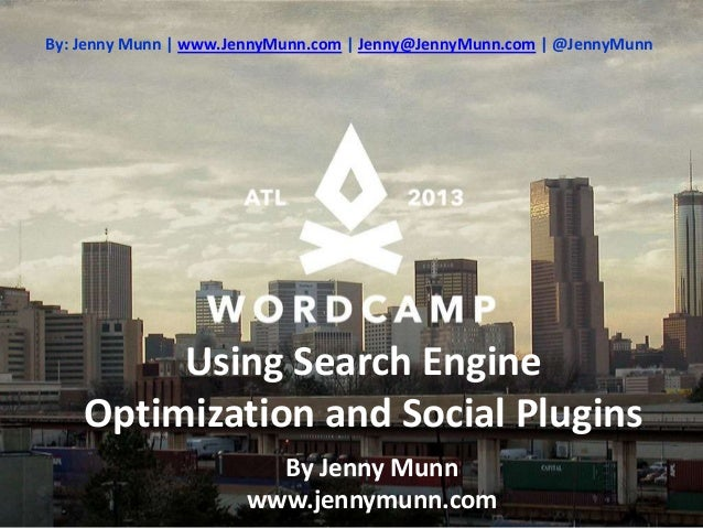 Word camp 2013-seo plugins