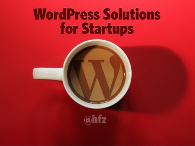 WordPress Solutions for Startups