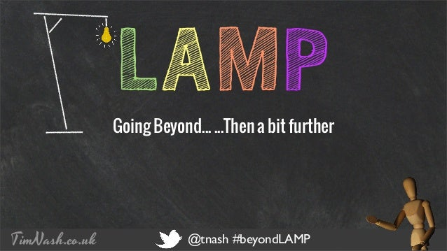 COMPANY NAME PRESENTATION TITLE 12 - 12 - 2012 TimNash.co.uk @tnash #beyondLAMP LAMPGoing Beyond... ...Then a bit further
